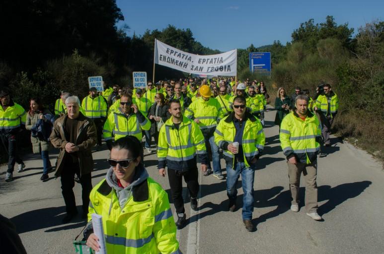 Πορεία Υπέρ των Μεταλλείων_Στρατώνι 20150304