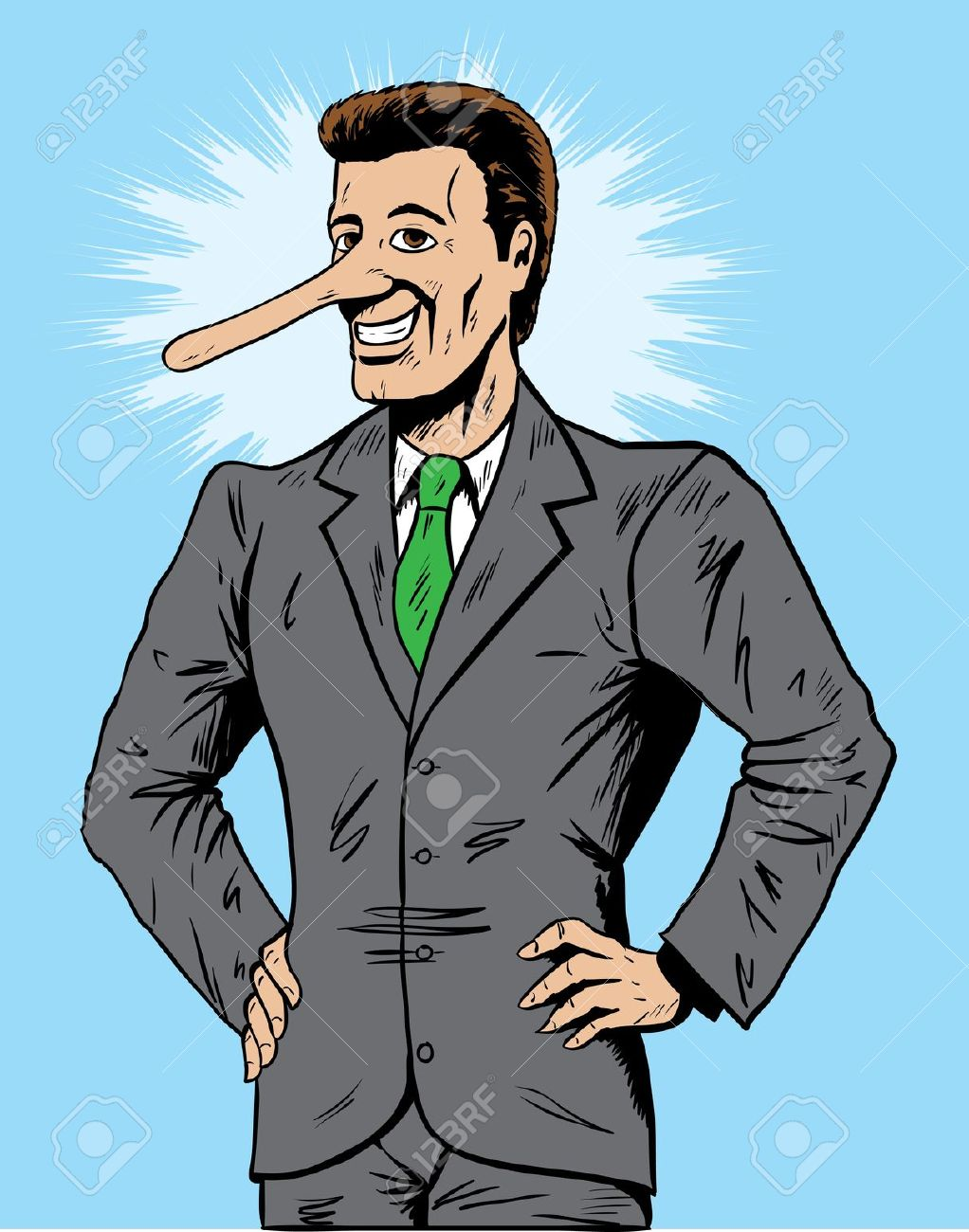 13664142-Lying-salesman-or-businessman-Stock-Vector-pinocchio-scam-con
