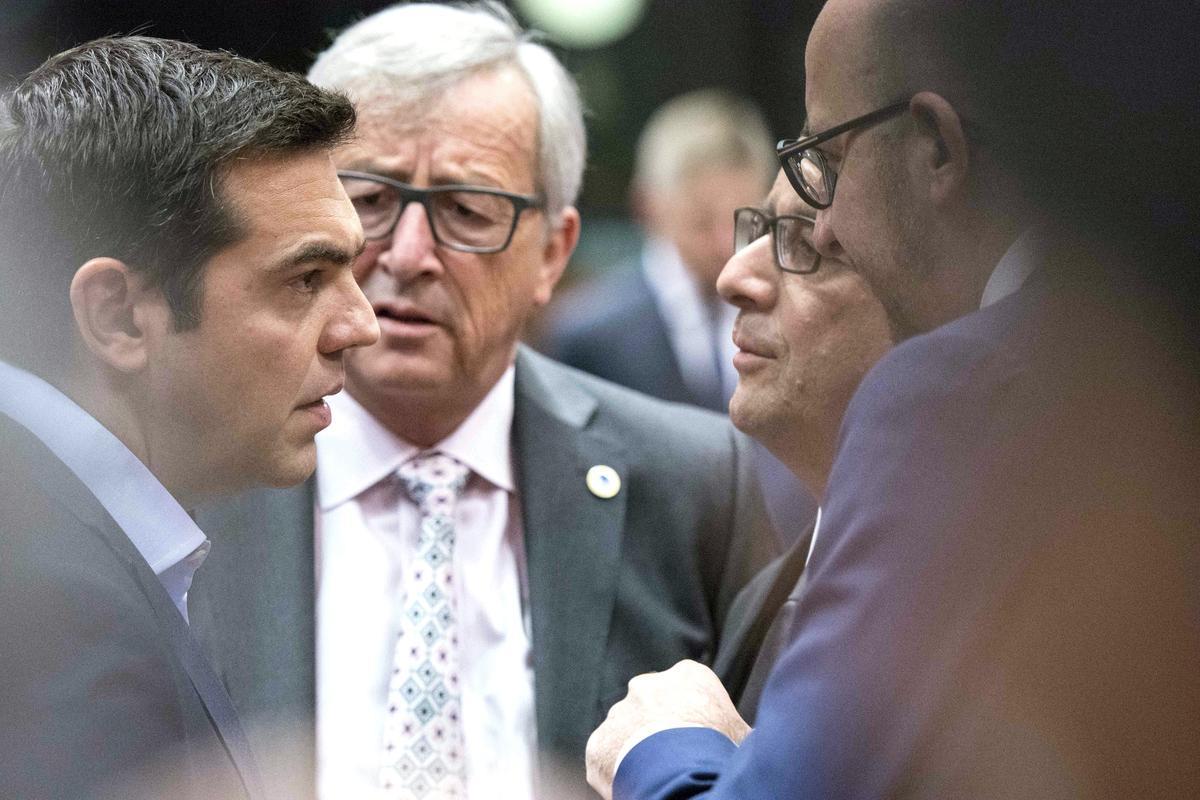 European summit on the Greek issue, in Brussels, on July 12, 2015 / Σύνοδος κορυφής για το ελληικό ζήτημα, στις Βρυξέλλες, στις 12 Ιουλίου, 2015